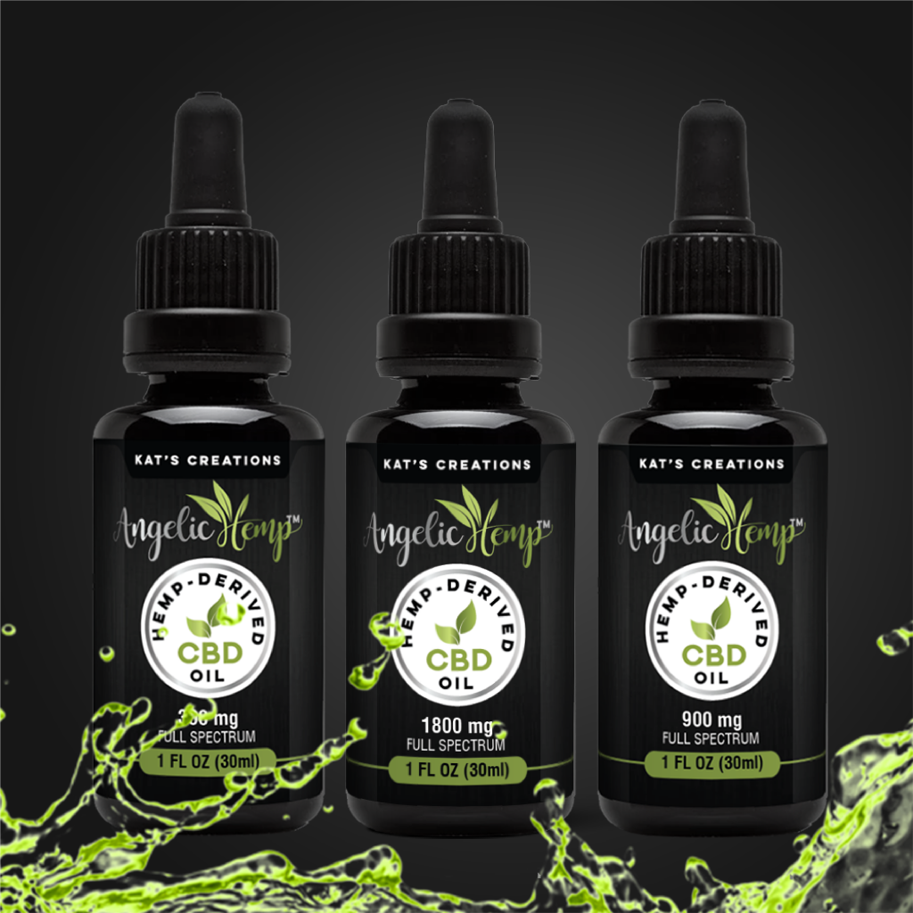 Three Strengths of CBD Products for sale online.  Full Spectrum and Broad Spectrum options.